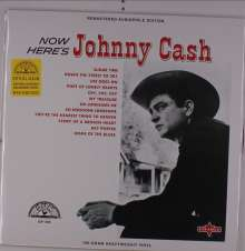 Johnny Cash: Now Here's Johnny Cash (remastered) (180g) (Limited-Edition) (Red Vinyl), LP