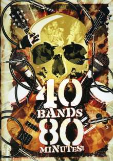 40 Bands/80 Minutes!, DVD