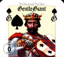 Gentle Giant: The Power And The Glory (5.1 & 2.0 Steven Wilson Mix) (CD + DVD), 1 CD und 1 DVD