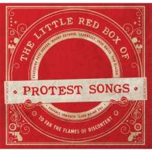 The Little Red Box Of Protest Songs, 4 CDs