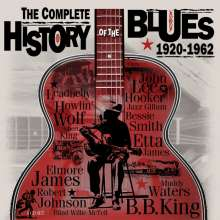 The Complete History Of Blues 1920 - 1962, 4 CDs
