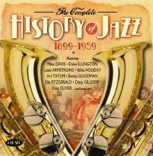 Complete History Of Jazz 1899 - 1959, 4 CDs