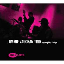 Jimmie Vaughan & Mike Flanigin: Live At C-Boy's, CD