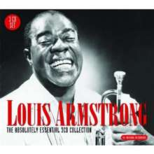 Louis Armstrong (1901-1971): Absolutely Essential Collection, 3 CDs