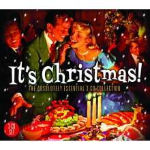 It's Christmas! The Absolutely Essential 3 CD Collection, 3 CDs