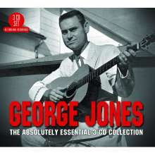 George Jones (1931-2013): The Absolutely Essential 3CD Collection, 3 CDs