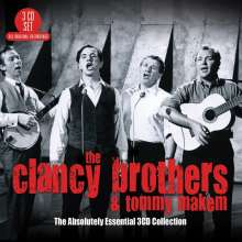 The Clancy Brothers & Tommy Makem: The Absolutely Essential 3CD Collection, 3 CDs