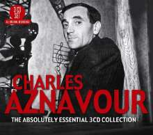 Charles Aznavour: Absolutely Essential, 3 CDs