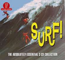 Surf! Absolutely Essential, 3 CDs