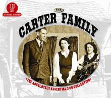 The Carter Family: The Absolutely Essential Collection, 3 CDs