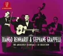 Django Reinhardt & Stephane Grappelli: Absolutely Essential 3 CD Collection, 3 CDs