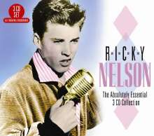 Rick (Ricky) Nelson: Absolutely Essential, 3 CDs