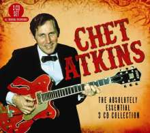 Chet Atkins: The Absolutely Essential Collection, 3 CDs