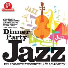 Dinner Party Jazz, 3 CDs