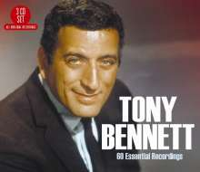 Tony Bennett (geb. 1926): 60 Essential Recordings, 3 CDs
