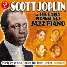 Scott Joplin & The Early Pioneers Of Jazz, 3 CDs