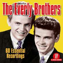 The Everly Brothers: 60 Essential Recordings, 3 CDs