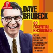 Dave Brubeck (1920-2012): 60 Essential Recordings, 3 CDs