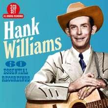 Hank Williams: 60 Essential Recordings, 3 CDs