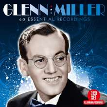 Glenn Miller (1904-1944): 60 Essential Recordings, 3 CDs