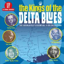 Kings Of The Delta Blues, 3 CDs