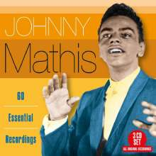Johnny Mathis: 60 Essential Recordings, 3 CDs