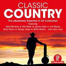 Classic Country, 3 CDs