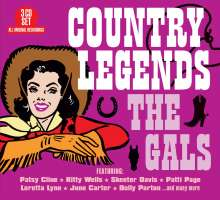 Country Legends: The Gals, 3 CDs