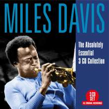 Miles Davis (1926-1991): Absolutely Essential, 3 CDs