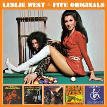 Leslie West: 5 Originals, 3 CDs