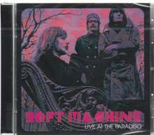 Soft Machine: Live At The Paradiso 1969, CD