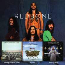 Redbone: Potlatch/Message From A Drum/Cycles, 2 CDs