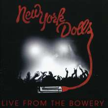 New York Dolls: Live From The Bowery 2011 (CD + DVD), 2 CDs