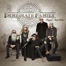 The Immediate Family: Slippin' And Slidin', CD