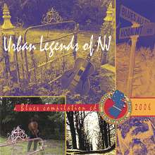 United Jersey Blues Network: Urban Legends Of Nj, CD