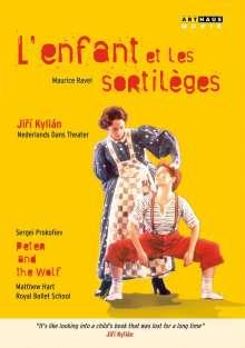 Nederlands Dans Theater: L'enfant et les sortileges, DVD