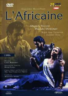 Giacomo Meyerbeer (1791-1864): L'Africana, 2 DVDs