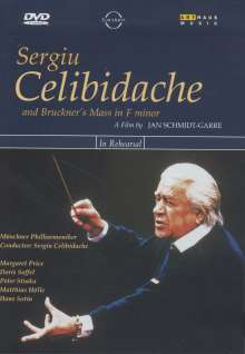 Sergiu Celibidache probt Bruckners Messe Nr.3, DVD
