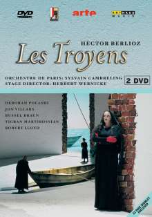 Hector Berlioz (1803-1869): Les Troyens, 2 DVDs