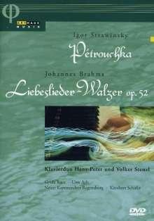 Igor Strawinsky (1882-1971): Petruschka für 2 Klaviere, DVD