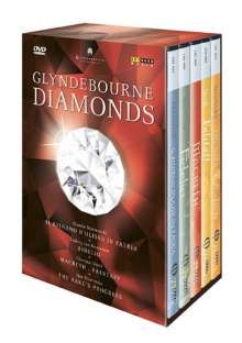 Glyndebourne Diamonds, 5 DVDs