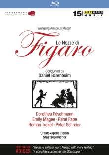Wolfgang Amadeus Mozart (1756-1791): Die Hochzeit des Figaro (mit Arthaus-Katalog 2015/2016), Blu-ray Disc