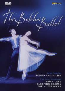 The Bolshoi Ballett Vol.1, 4 DVDs