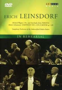 Erich Leinsdorf dirigiert, DVD