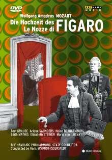 Wolfgang Amadeus Mozart (1756-1791): Die Hochzeit des Figaro (in dt.Spr.), DVD