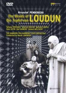 Krzysztof Penderecki (geb. 1933): Die Teufel von Loudun, DVD