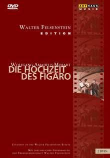 Wolfgang Amadeus Mozart (1756-1791): Die Hochzeit des Figaro (Walter Felsenstein-Edition), 2 DVDs
