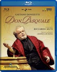 Gaetano Donizetti (1797-1848): Don Pasquale, Blu-ray Disc