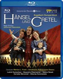 Engelbert Humperdinck (1854-1921): Hänsel & Gretel, Blu-ray Disc