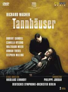 Richard Wagner (1813-1883): Tannhäuser, 2 DVDs